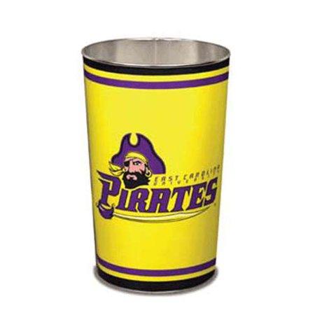 Wincraft Wastebasket - East Carolina Pirates Metal Wastebasket