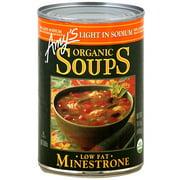 Amy's Light In Sodium Organic Lentil Soup, 14.5 oz (Pack of 12)