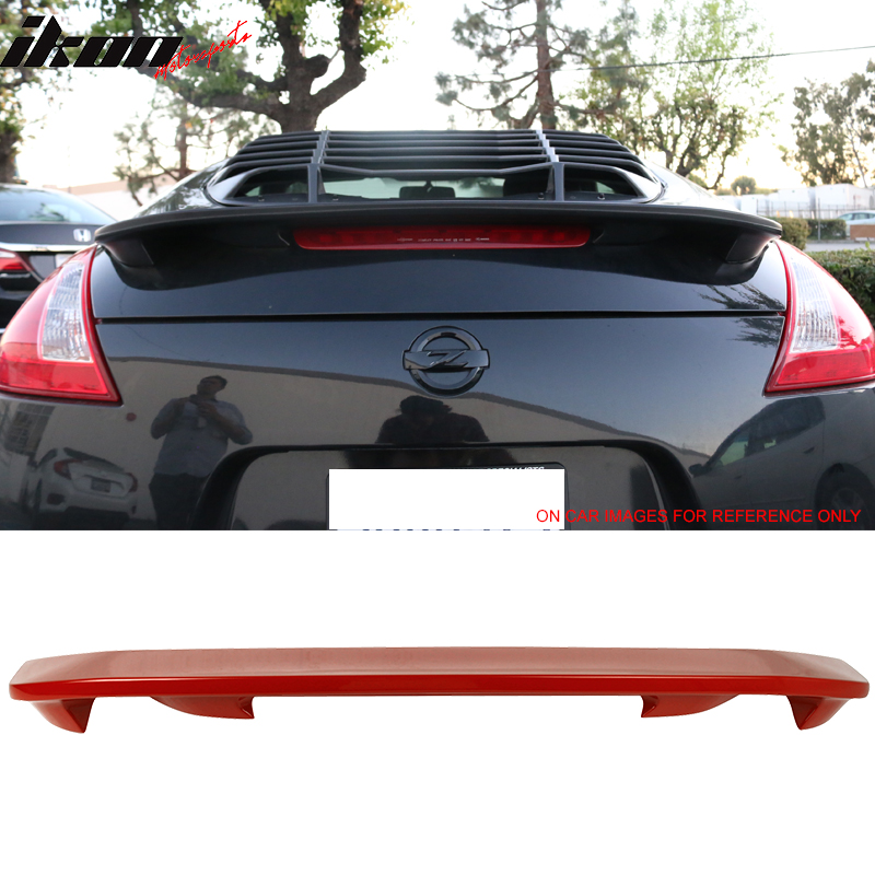 For 09-17 Nissan 370Z OE Factory Style Trunk Spoiler - ABS