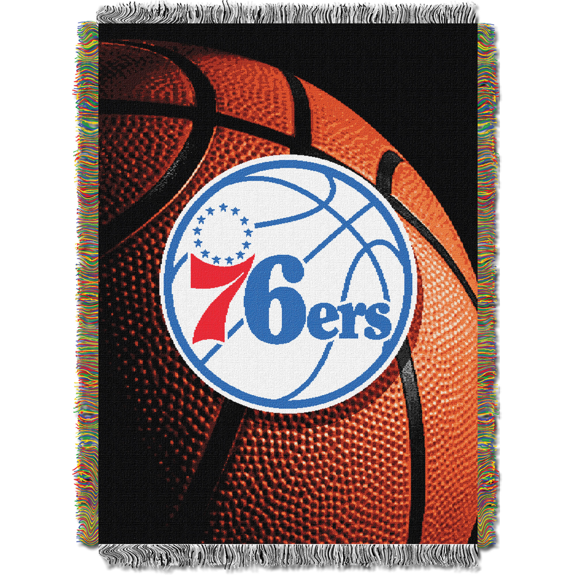 Philadelphia 76ers The Northwest Company 48'' x 60'' Photo Real Woven Tapestry Throw - No Size