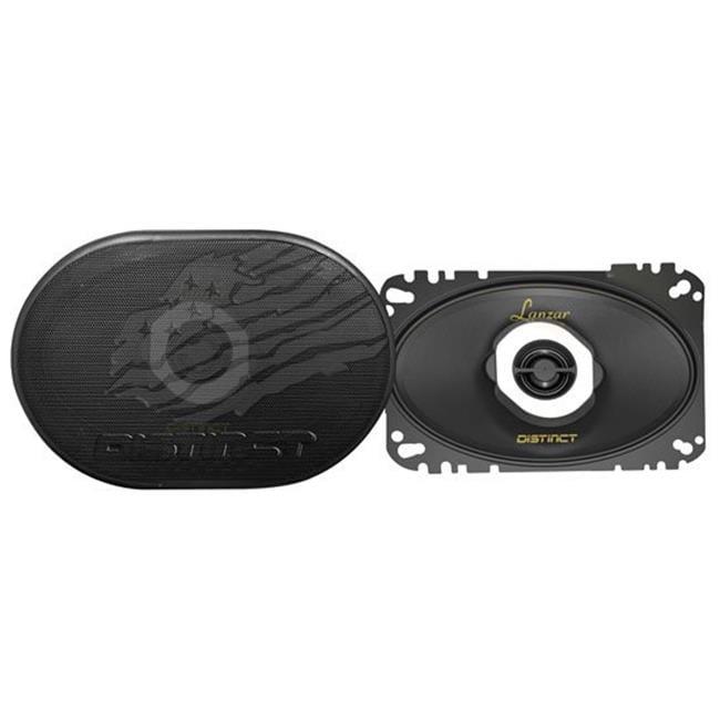 r  120 Watt 2-Way Coaxial Speaker, 4 x 6 in.