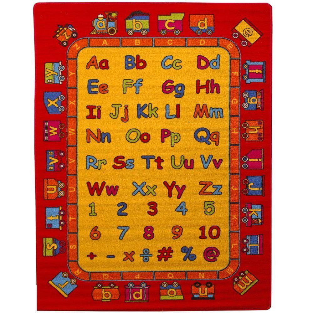 Abc Fun Kids Area Rug 5 X 7 Children