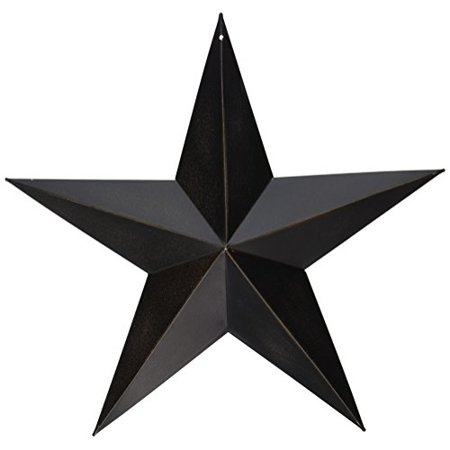 - CWI Gifts Barn Star Wall Decor, 12-Inch, Antique Black