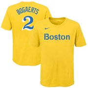 Xander Bogaerts Boston Red Sox Nike Youth 2021 City Connect Name & Number T-Shirt - Gold