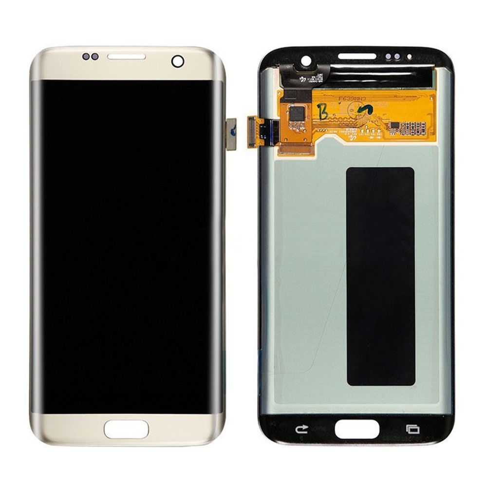 OEM Digitizer Assembly for Samsung Galaxy S7 Edge Gold LC...