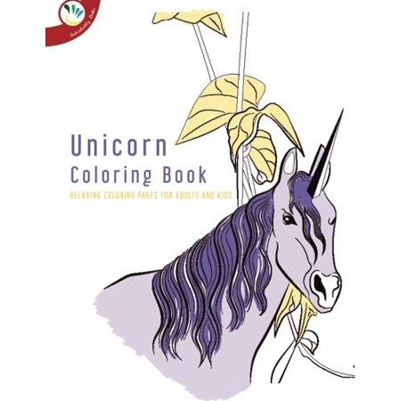Unicorn Coloring Book Relaxing Pages For Adults And Kids