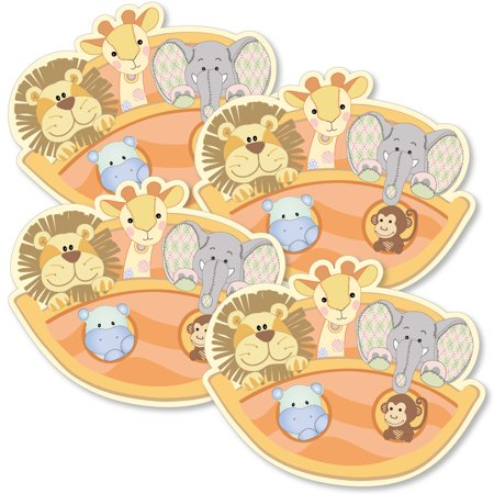 Noah's Ark - Decorations DIY Baby Shower Party Essentials - Set of (Noah's Ark Baby Shower Theme)