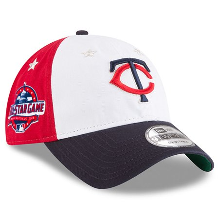Minnesota Twins New Era 2018 MLB All-Star Game 9TWENTY Adjustable Hat - White/Navy - OSFA (Minnesota Twins Baseball Hat)