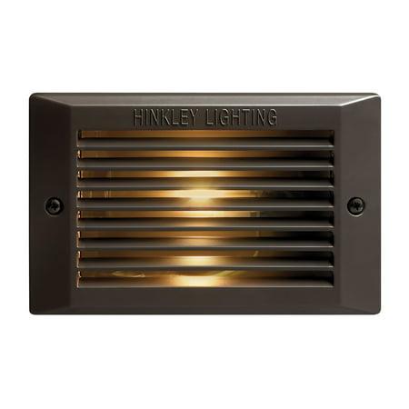Hinkley Lighting H58009 120v 9w Line Voltage Brick / Step (Brick Three Light)