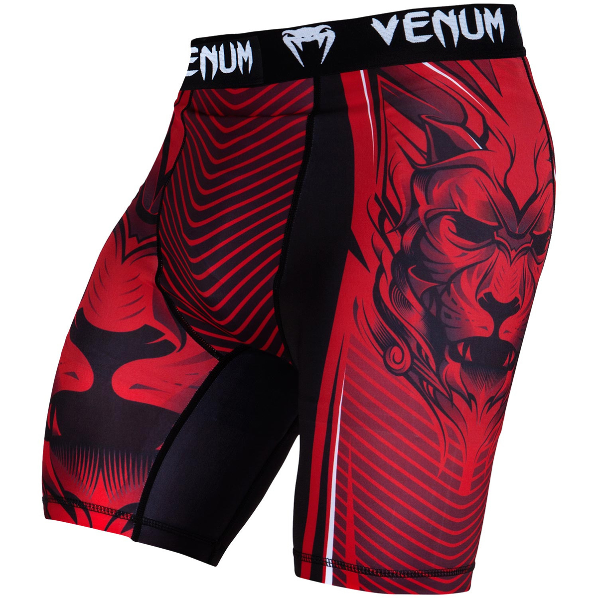 Venum Bloody Roar Dry Tech Compression Vale Tudo Fight Shorts - Red