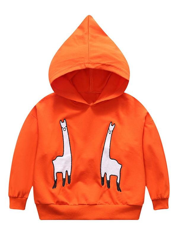 Babula Baby Boy Girl Spring/Autumn Animal Embroidery Hoodie Sweatshirt