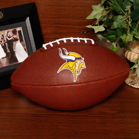 Minnesota Vikings Rawlings Game Time Official Size Football - No Size for $<!---->