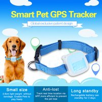 Pet GPS Tracker Device Collar & Activity Monitor Locator Real Time for Pet Cats Dogs, Waterproof, Anti Lost Finder Global Monitor Tracker, Network Tracking,Pet Training Supplies