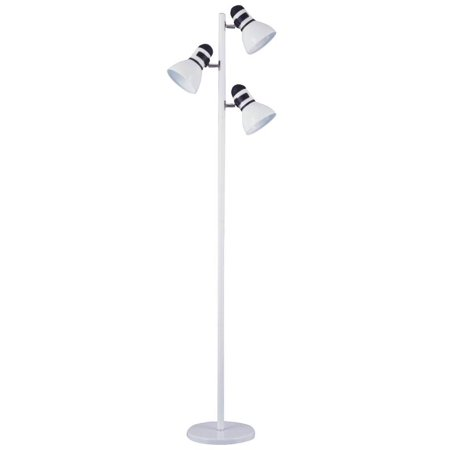 Boston Harbor 3-Light Adjustable Tree Lamp, 60 W, A19