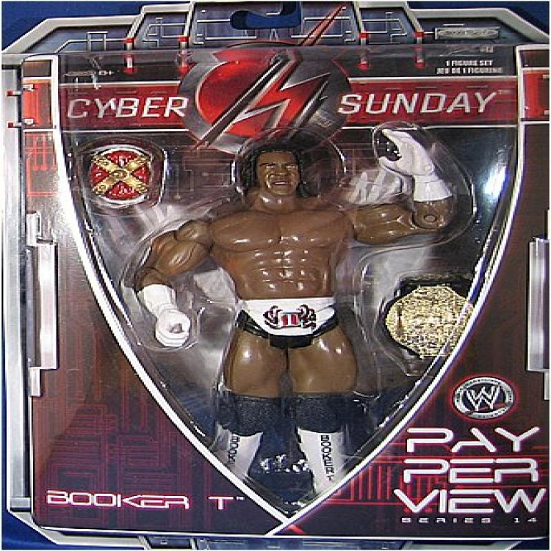 BOOKER T - PAY PER VIEW 14 WWE TOY WRESTLING ACTION FIGURE