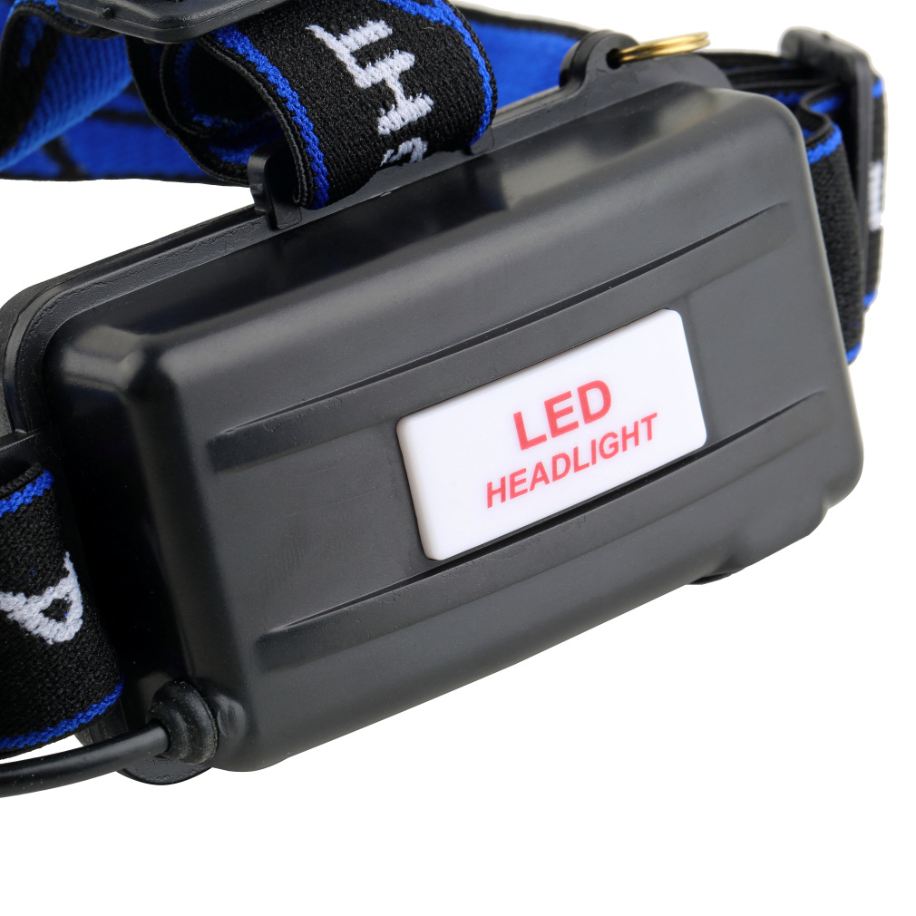Aluminum 2000 Lumens XM-L T6 LED 18650 Zoomable Headlamp Headlight Night Torch
