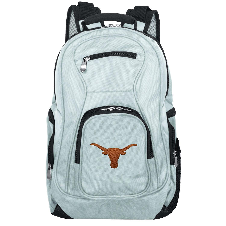 NCAA Texas Longhorns Gray Premium Laptop Backpack
