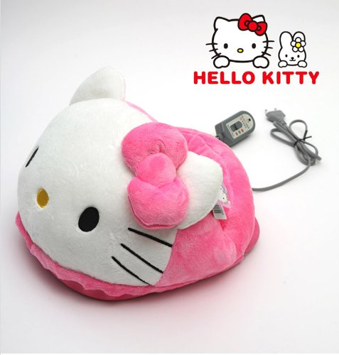Hello Kitty electric Foot Warmer Heater Stove Heading pad...