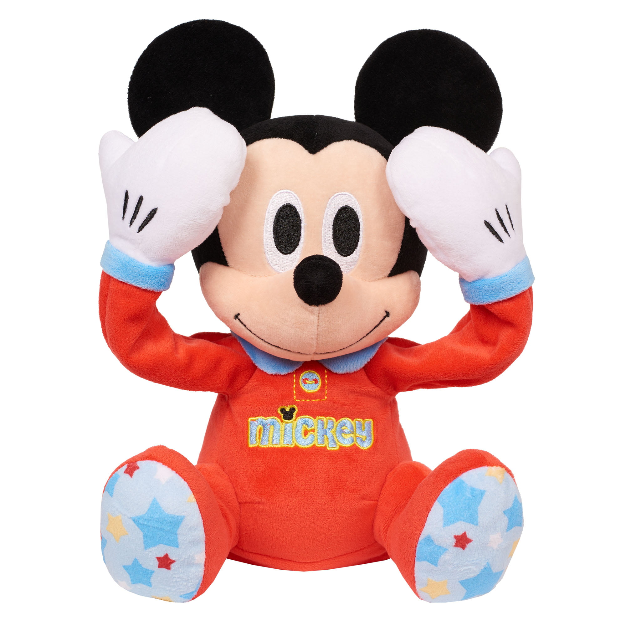 Disney Baby Peek-A-Boo Plush Mickey Mouse by Just Play