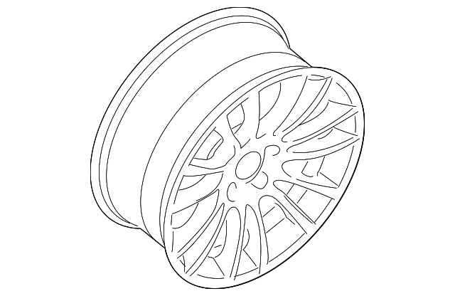 Genuine Oe Bmw Wheel Alloy 36 11 7 841 822