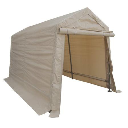 Outdoor Storage Shed 6' x 8' Peak Frame Storage Shelter