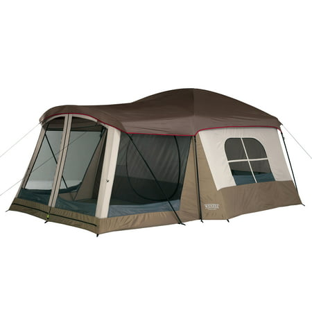 Wenzel Klondike 16 x 11 Large 8 Person Screen Room Outdoor Camping Tent, (Wenzel Klondike 8 Person Family Tent Reviews)