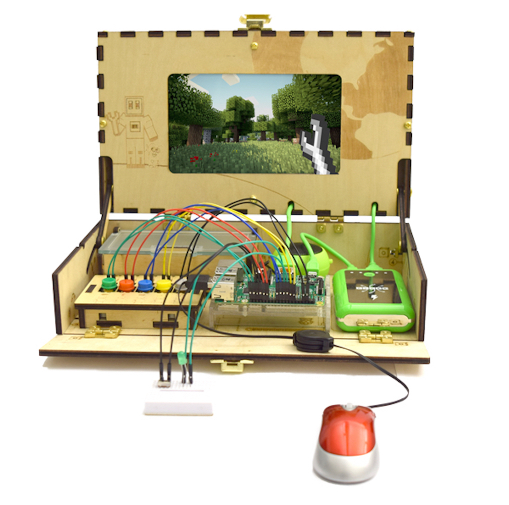 Piper Educational Toy Computer Kit that Teaches STEM and Coding with Raspberry Pi Edition of Minecraft Game