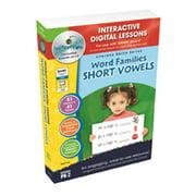 Classroom Complete Press CC7112 Word Families: Short Vowels