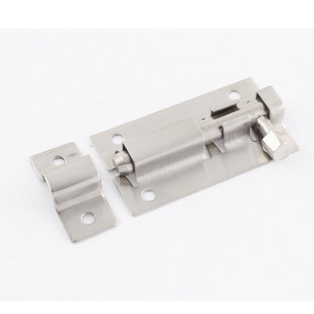 Stainless Steel Safety Guard Latch Slide Lock Door Window Barrel Bolt (Slide Doors)