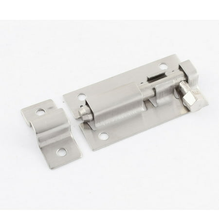 Stainless Steel Safety Guard Latch Slide Lock Door Window Barrel - Slide Bolt Spring