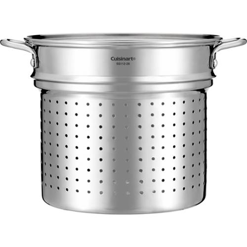 Cuisinart Chef's Classic Ss112-28gb Cookware - 3 Gal Steamer Insert - Stainless Steel (ss112-28gb)