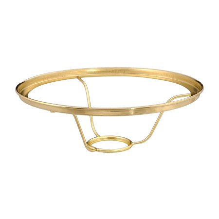 "10"" Shade Ring Holders Designed To Fit Aladdin Brand Burners, 10"" Brass Shade Ring Holder* designed to fit ALADDIN Brand Burners and Lamp Supply.., By B&P Lamp"