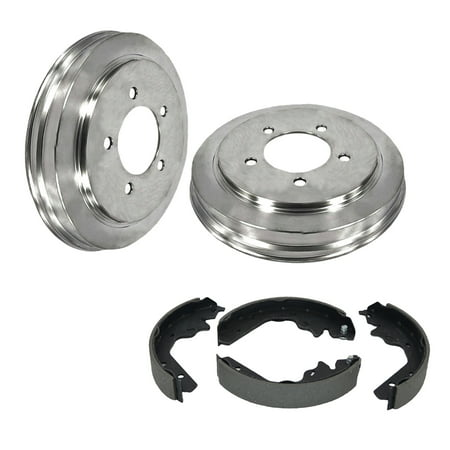 Brake Brake Shoe Set (FLPX Rear Brake Drum & Shoe Set Kit for 04-08 CHEVROLET)