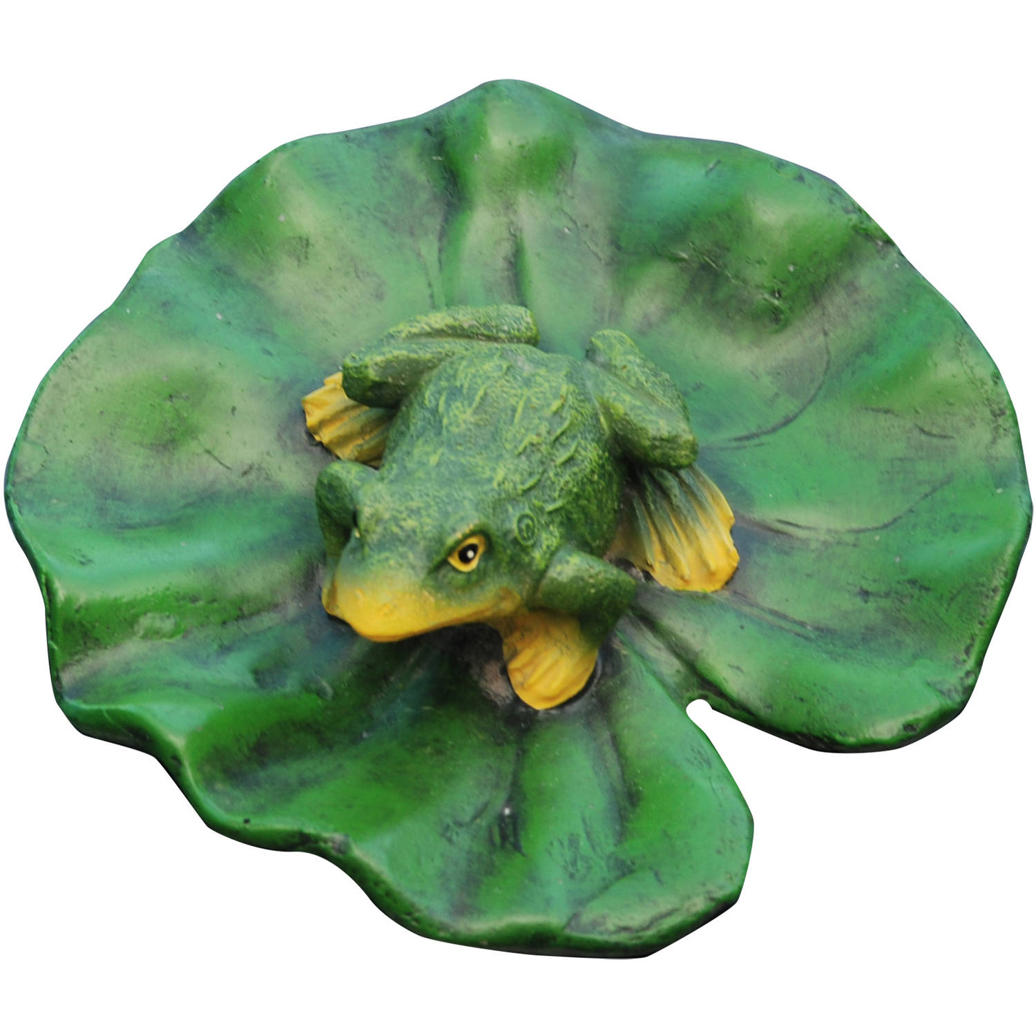 Aquanique Floating Frog Lily Pad