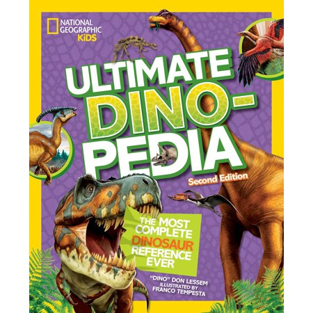 National Geographic Kids Ultimate Dinopedia, Second Edition (Chords 2nd Edition)