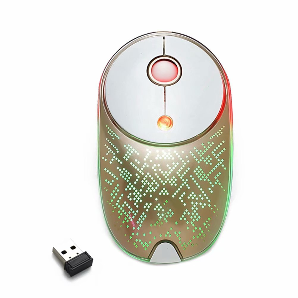 Noroomaknet Wireless Mouse with Nano USB Receiver,Universal Gaming Optical USB Mouse for Laptop Notebook, PC, Computer, Macbook