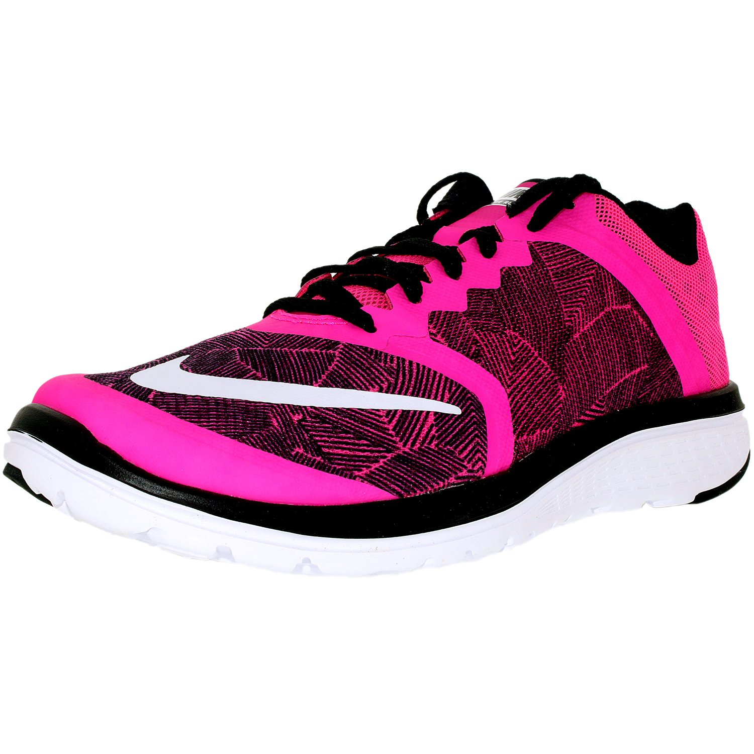 wholesale dealer 88e0e aa225 Nike Women's Fs Lite Run 3 Print W Ankle-High Mesh Running Shoe