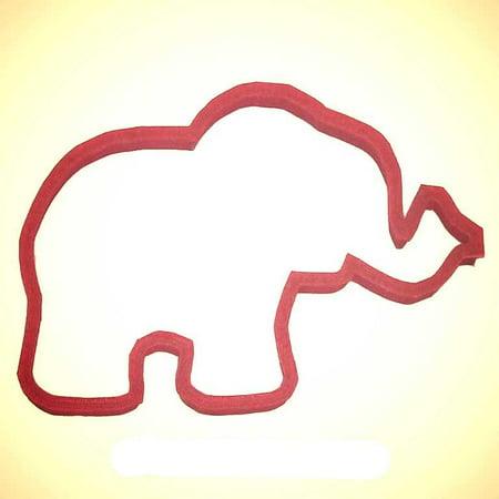 Five Elephants - Circus Elephant Plast-Clusive Cookie Cutter 5