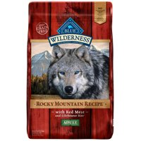 Blue Buffalo Wilderness Grain-Free Adult Rocky Mountain Recipe With Red Meat Dry Dog Food