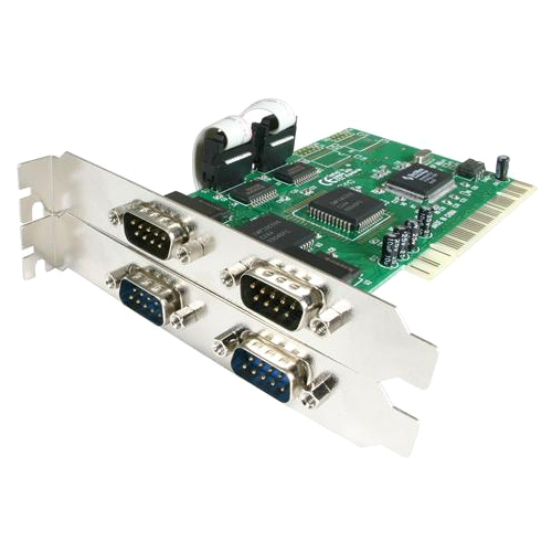 StarTech.com PCI4S550N 4 Port PCI Serial Adapter Card