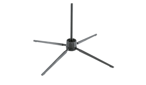 Flute Stand Black by K&M