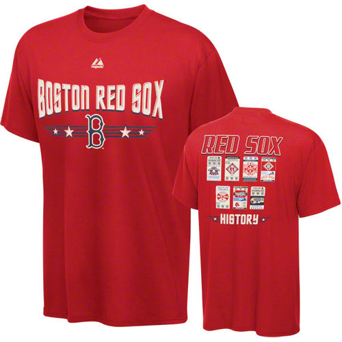 MLB - Boston Red Sox Youth Majestic Baseball Tickets T-Shirt