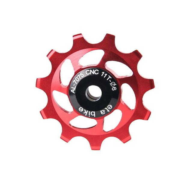 11T MTB Aluminium Bearing Wheel Pulley Road Bike Bicycle Rear Derailleur Sets