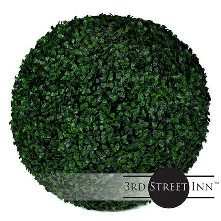 Ball Topiary Tree (3rd Street Inn Boxwood Topiary Ball - 19