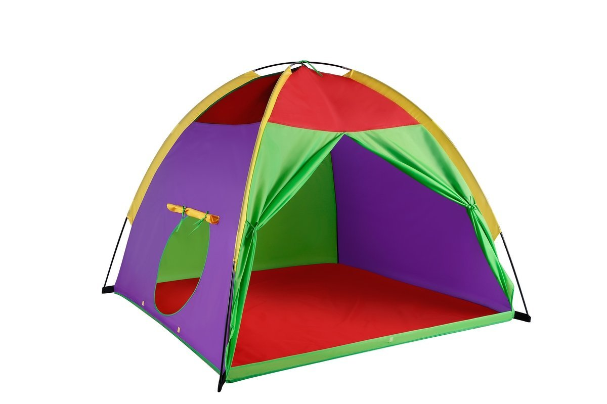 Kids Tents Giant Party Play house Indoor u0026 Outdoor Pop Up Tent Game u0026 Toy For  sc 1 st  Walmart & Childrenu0027s Pop Up Play Tents