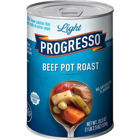 Progresso Light Beef Pot Roast Soup, 18.5 oz Can