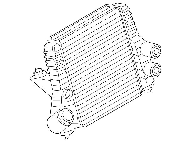 Genuine Oe Ford Inter Cooler Dl3z 6k775 B