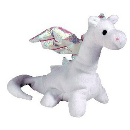 TY Beanie Baby - MAGIC the White Dragon (4th Gen hang tag) (7 inch)](Beanie Baby Tag Halloween)