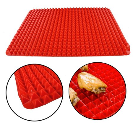 Silicone Healthy Cooking Baking Mat Non-stick Red 1 Piece