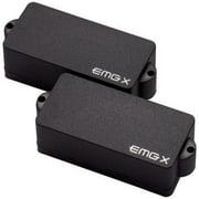 EMG P-X Active Bass Pickup Set, Black